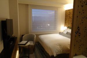 ホテル日航金沢のニッコーダブルの室内