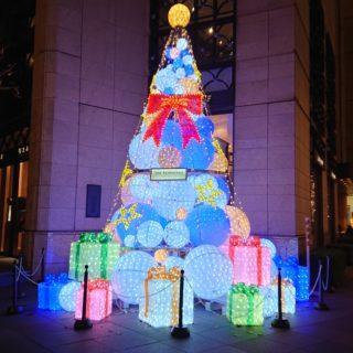 ペニンシュラ東京のクリスマスツリー(Christmastree)