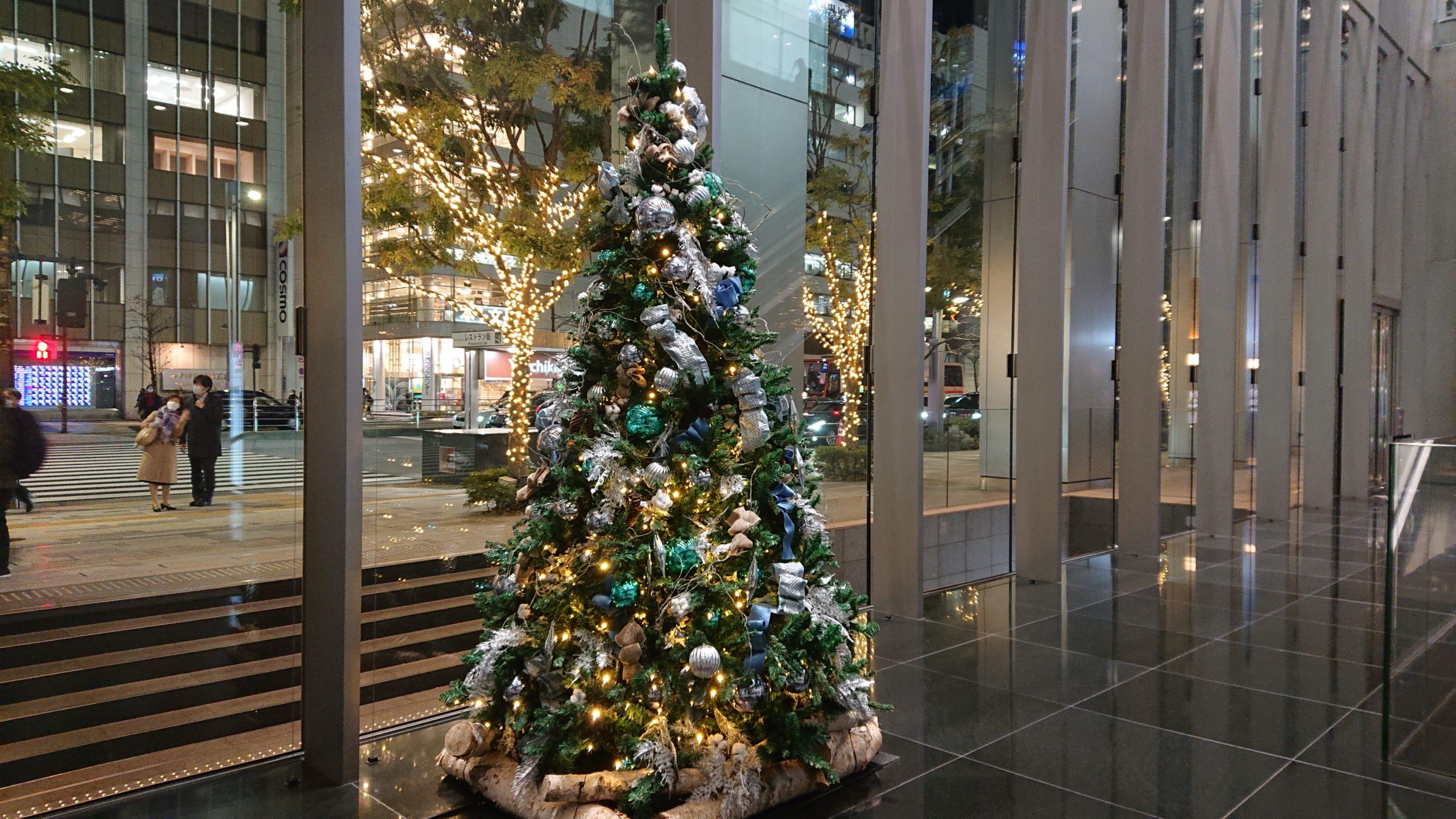 グラン東京サウスタワーのクリスマスツリー(Christmastree)