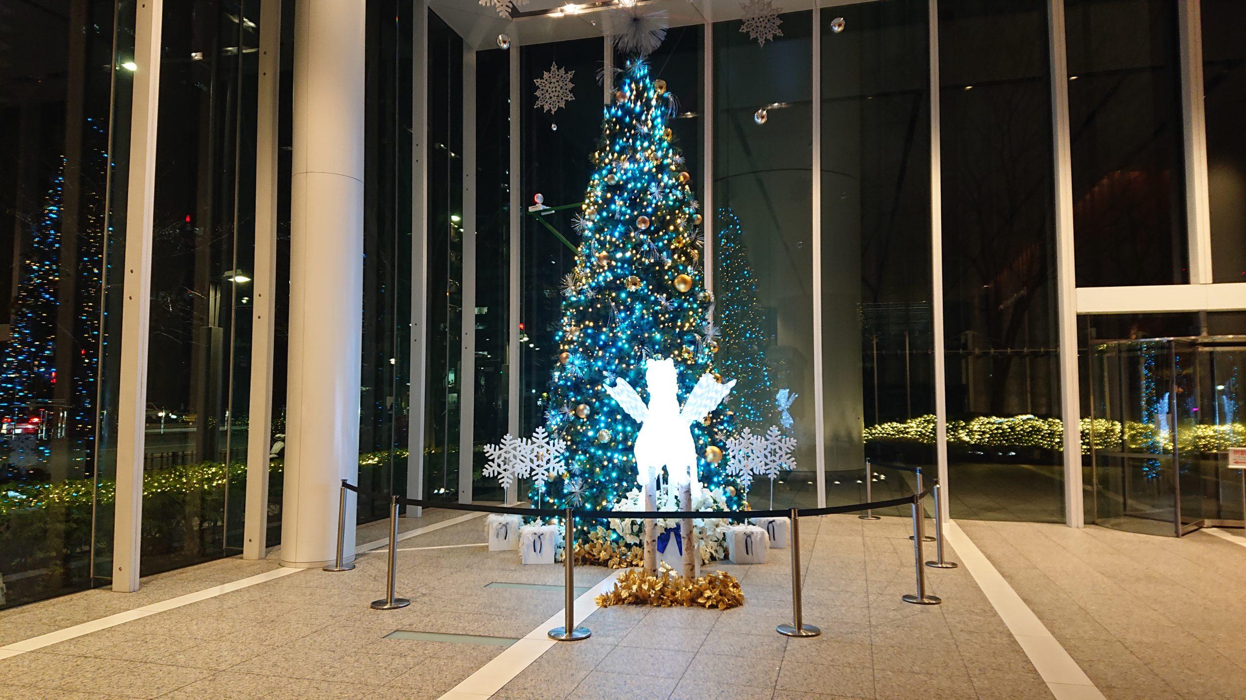 パシフィックセンチュリーパレスのクリスマスツリー