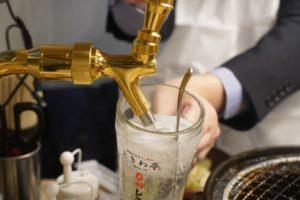 0秒レモンサワー仙台ホルモン焼肉酒場ときわ亭東高円寺店のレモンサワーのサーバー