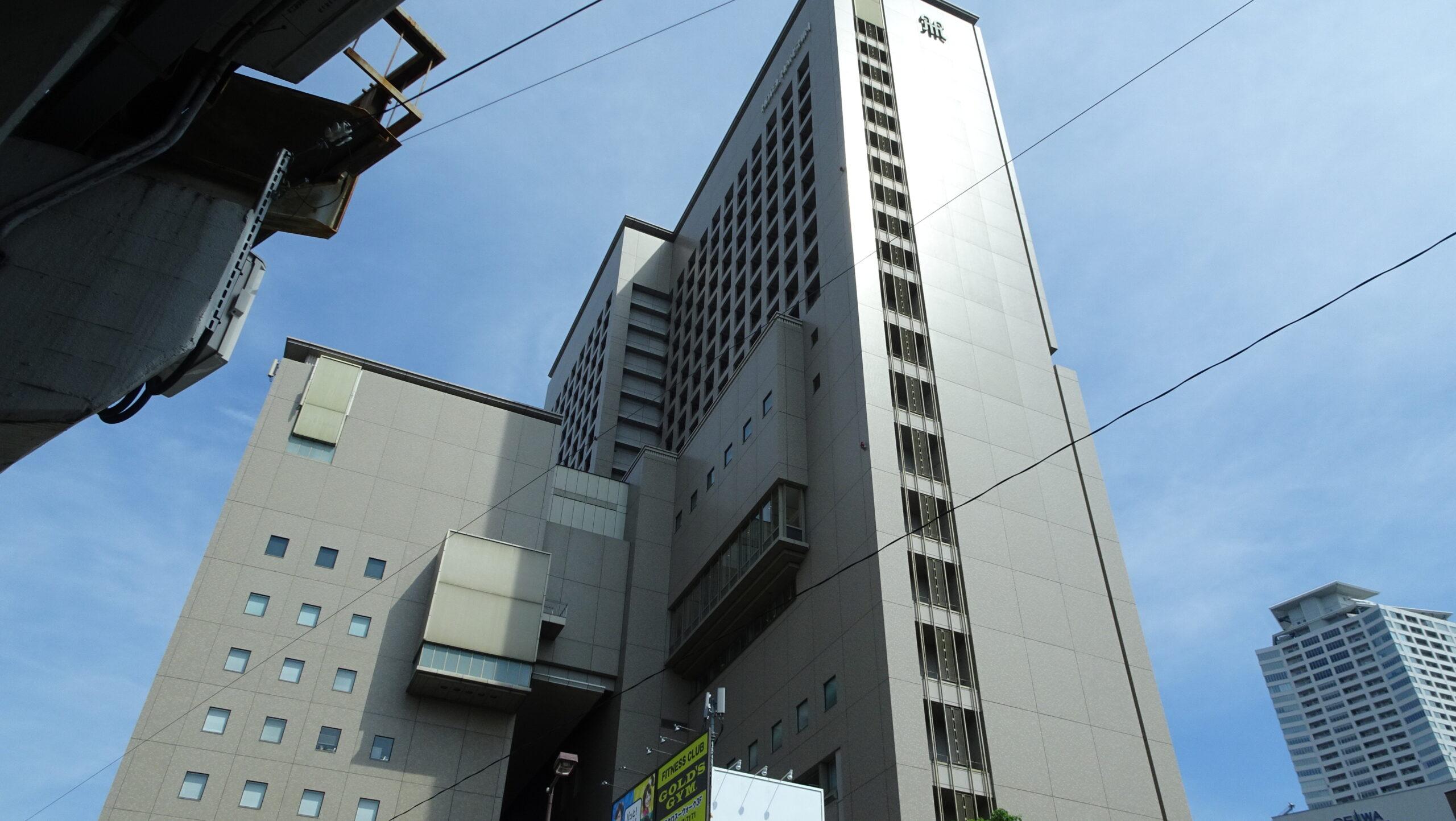 ホテル阪神大阪の外観