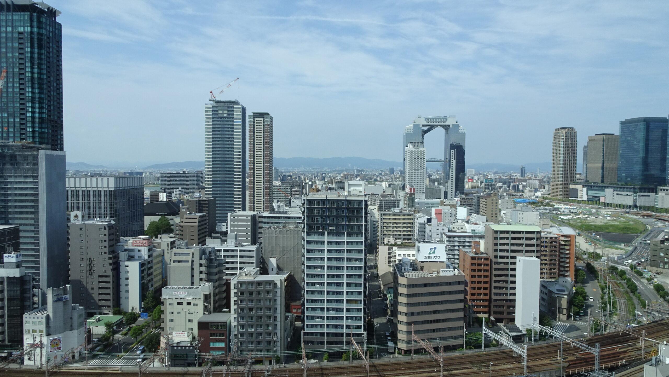 ホテル阪神大阪の景色