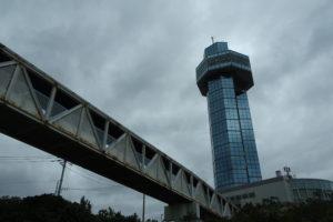 銚子ポートタワーの全景