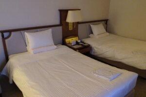 函館国際ホテルの西館のツイン