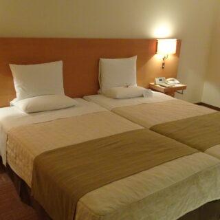 ホテルオークラ札幌のハリウッドツイン