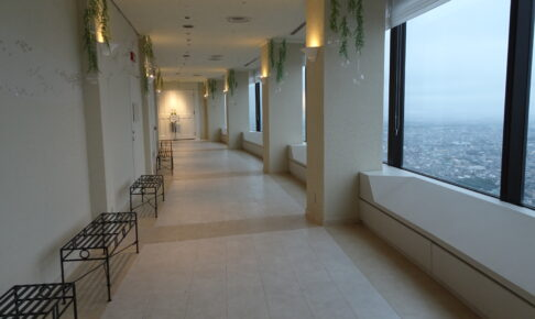 オークラアクトシティホテル浜松の展望回廊の展望室