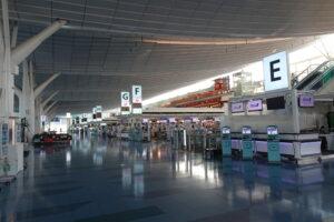 羽田空港第3ターミナル(国際線ターミナル)の出発ロビー