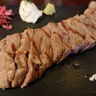 旭橋にあるブッチャマンのブッチャマンステーキ