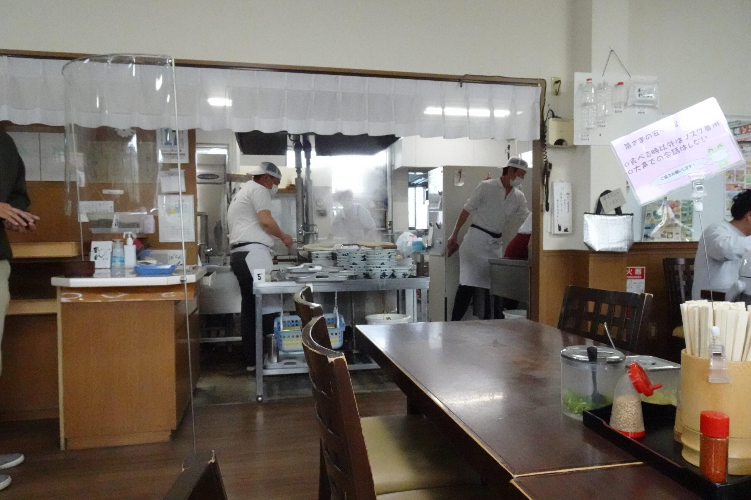 長田in香の香の厨房