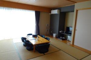 川根温泉ホテルの和室