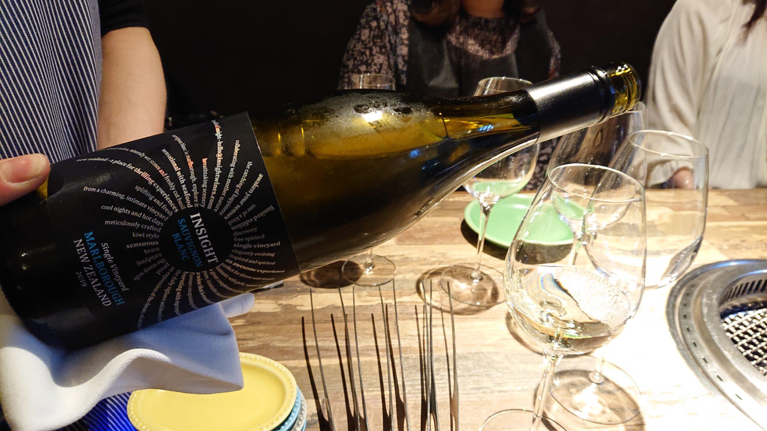 マンツォヴィーノ(MANZOVINO)で白ワインをいただきます。