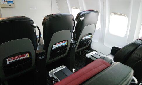 JAL737-800型機のクラスJリニューアルシート