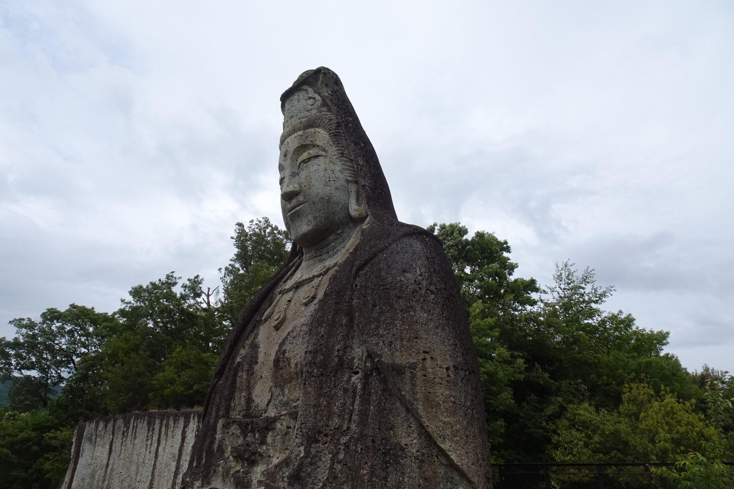 大谷公園にある平和観音像