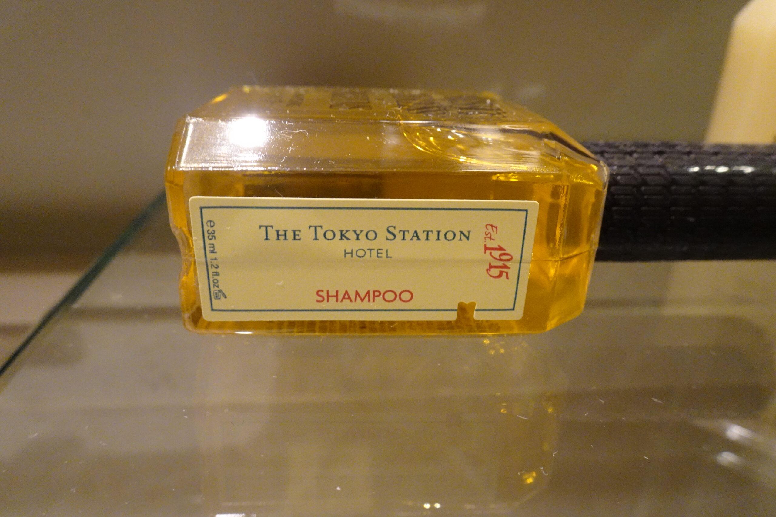東京ステーションホテルのアメニティは個性的