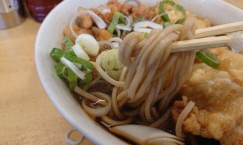 一◯そばの麺
