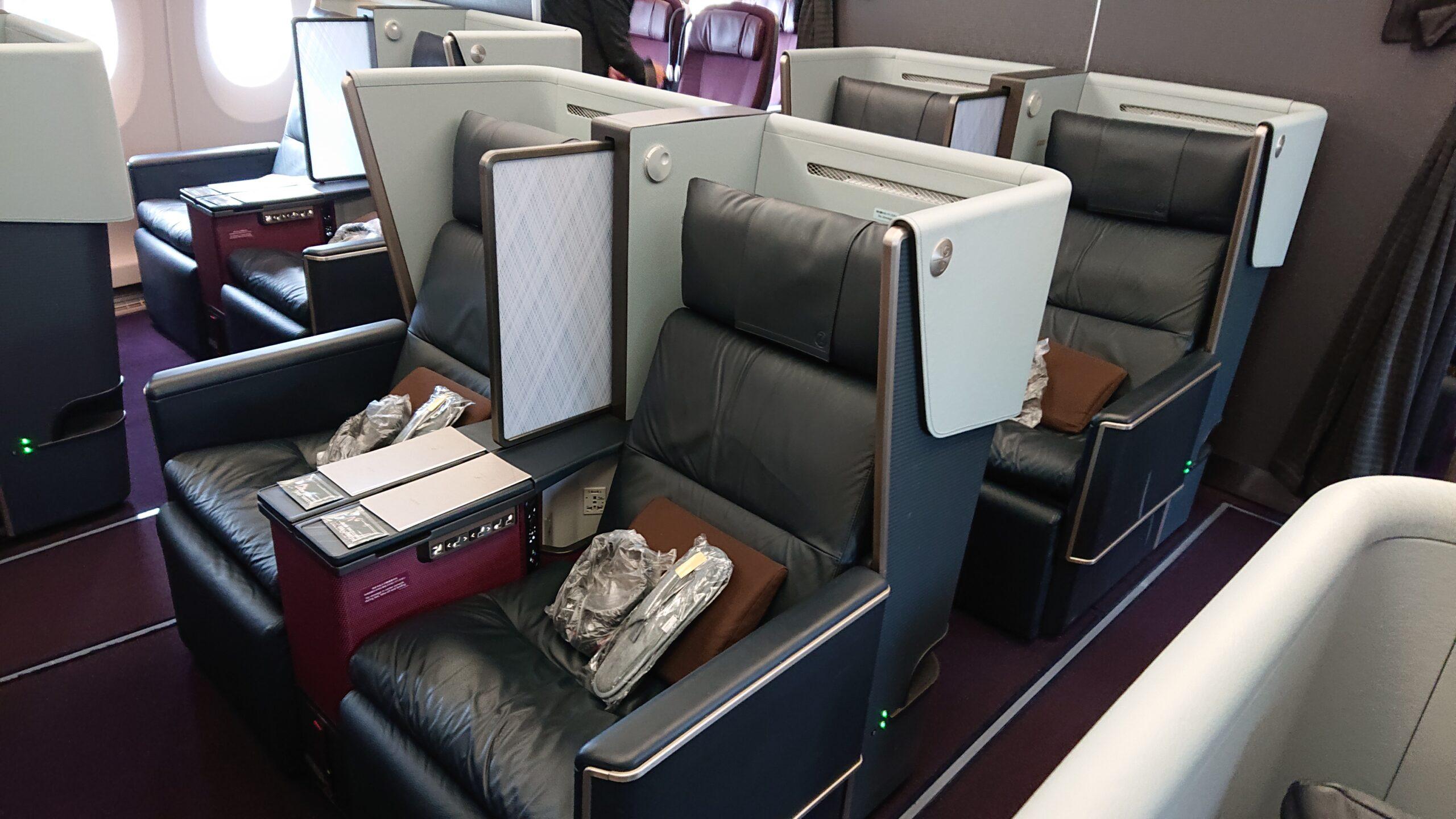 A350ファーストクラスの全景