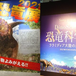恐竜展と恐竜科学博の比較