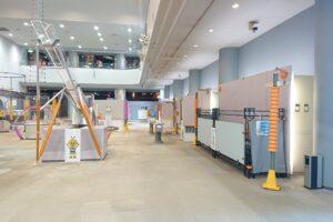 千葉県立現代産業科学館は空いていました。