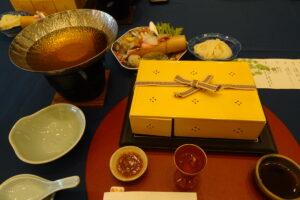 夕凪の湯HOTEL花樹海の夕食