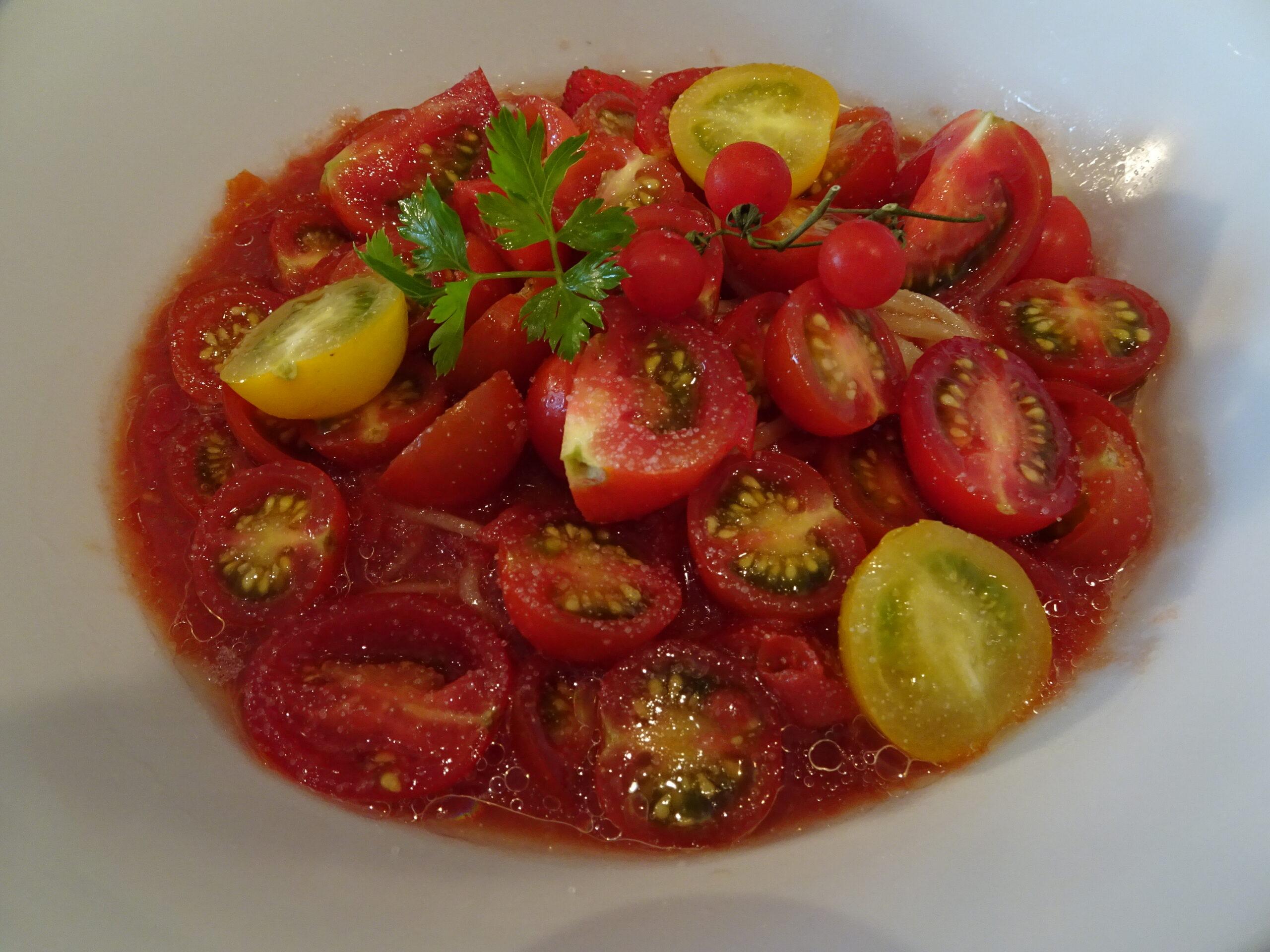 ドゥエイタリアン(DueItalian)市ヶ谷本店の冷製トマトスペシャル