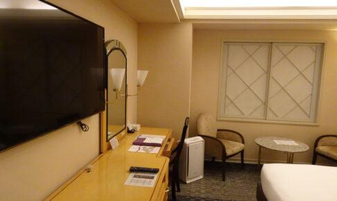 ホテルニューオータニ幕張の壁掛けテレビ