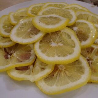 0秒レモンサワー仙台ホルモン焼肉酒場ときわ亭平塚店のレモンカーペット牛タン
