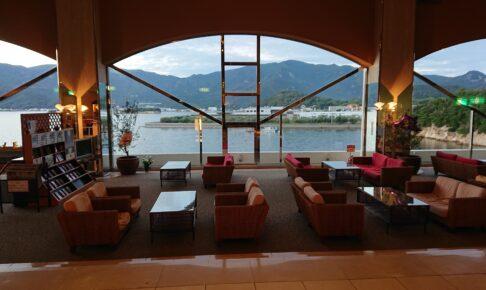ベイリゾートホテル小豆島のロビーからの眺望