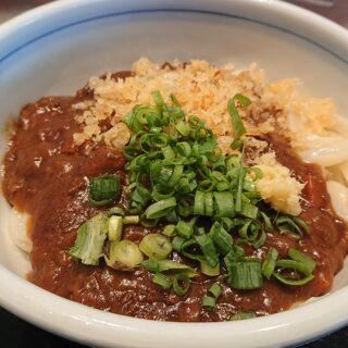 はやし家製麺所高松空港店の熟成黒毛和牛キーマカレー